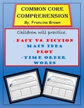 Common Core Comprehension