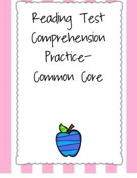 Common Core Comprehension Assessment