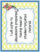 Common Core Comprehension & Collaboration Posters Grades 4-5