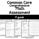 Common Core Comprehensive Math Assessment - 1st Grade