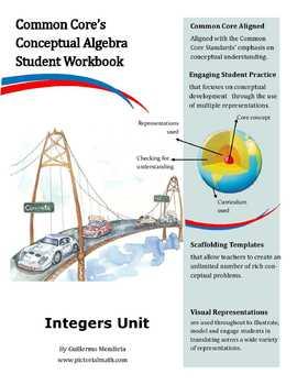 Common Core Conceptual Algebra: Integer Unit