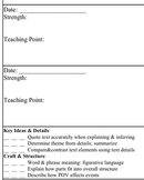 Common Core Conferencing and Observational Data - 5th