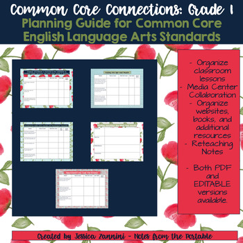Common Core Connections: Grade 1 ELA Common Core Standards
