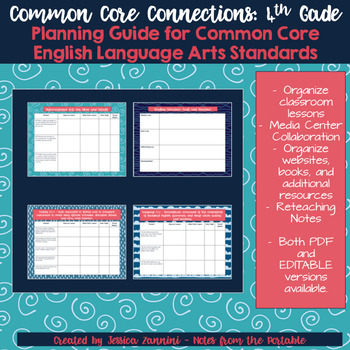 Common Core Connections: Grade 4 ELA Common Core Lesson Guide