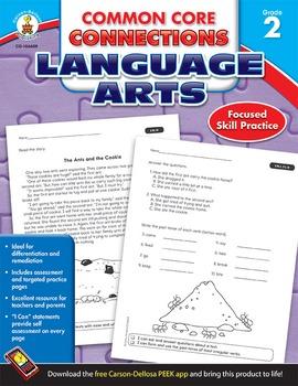 Common Core Connections Language Arts Grade 2 SALE 20% OFF! 104609