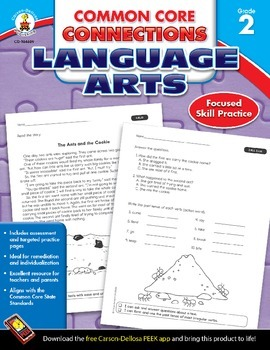 Common Core Connections Language Arts Grade 2 Skill Assessment Sample