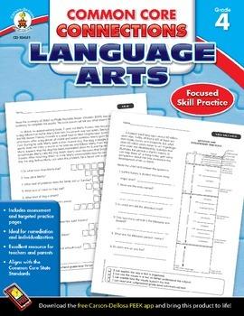Common Core Connections Language Arts Grade 4 Skill Assess