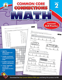 Common Core Connections Math Grade 2 SALE 20% OFF! 104603