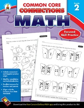 Common Core Connections Math Grade 2 Skill Assessment Sample
