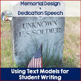 Speech Writing and Memorial Design