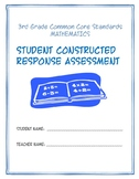 Constructed Response Assessment Bundle:  3rd Grade Common Core