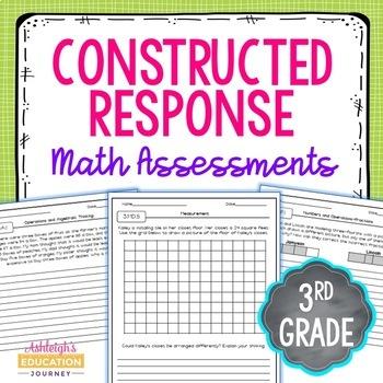 Third Grade Constructed Response Math Assessments