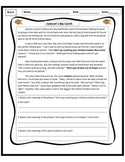 Common Core Context Clues Assessment RL3.4 Focus on Idioms