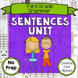 3rd Grade Punctuation and Sentences Unit
