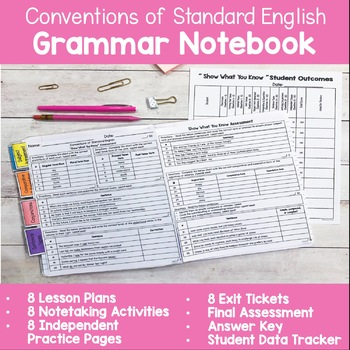 Common Core Conventions of Standard English Grammar Unit - 3rd grade aligned