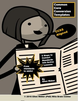 Common Core Conversion Templates - From Standards to Skill