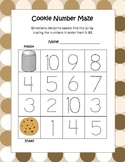 Common Core Cookie Leveled Number Mazes (3 Total)