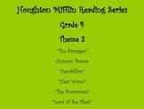 Common Core Correlated Questions 4th Grade Theme 3 Houghton Mifflin Reading