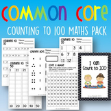 Common Core Count to 100 Mini-Unit K.CCA.1 K.CCA.2 K.CCA.3