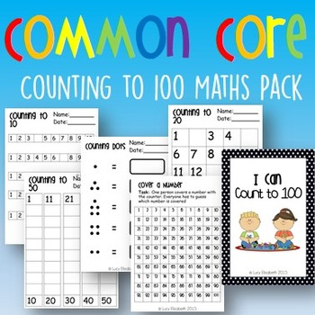 Counting To 100 Puzzles Teaching Resources | Teachers Pay Teachers