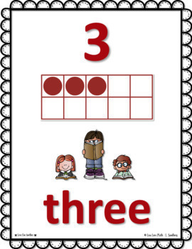 Subitizing and Number Sense Counting and Posters