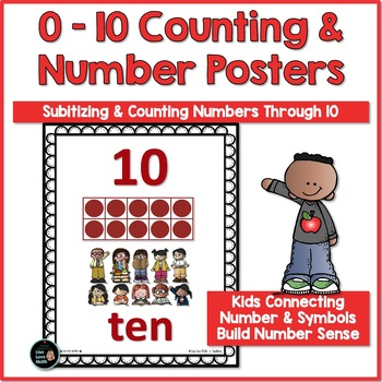 Ten Frame Counting Posters