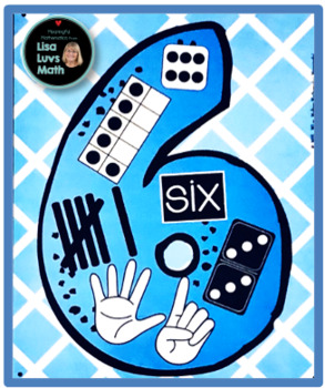 Counting & Number Posters - Anchor Charts 0-12