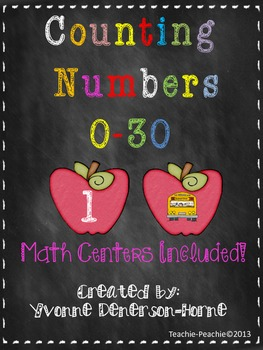 Common Core: Counting Numbers Zero to Thirty