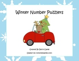 Common Core Counting/Skip Counting Leveled Christmas Numbe