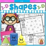Shapes Super Activity Pack (2 & 3 D Shapes)