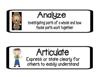 Common Core Critical Vocabulary Bundle