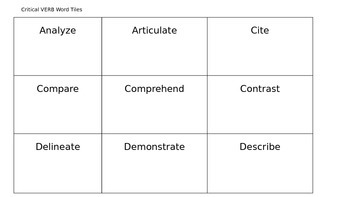 Common Core Critical Vocabulary Kit: Learning to Match Words with Meaning