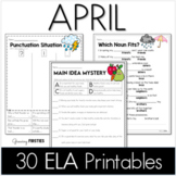 April Printables - ELA Common Core Crunch