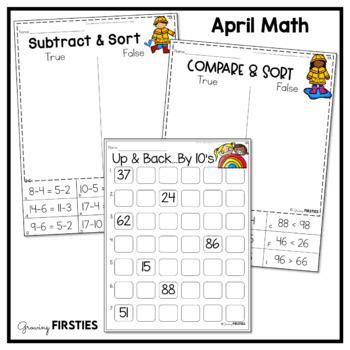 April Printables - Math Common Core Crunch