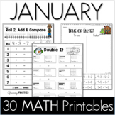 January Printables - Math Common Core Crunch