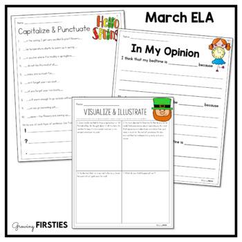 March Printables - ELA Common Core Crunch