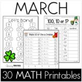 March Printables - Math Common Core Crunch