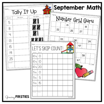 September Printables - Math Common Core Crunch