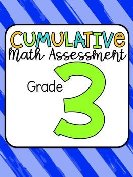 Common Core Cumulative Math Assessment