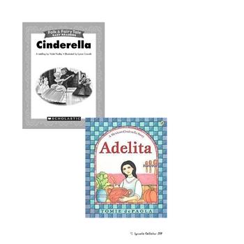 Common Core Curriculum Lesson Plan (Cinderella)