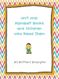 Resources to Support Unit 1: Alphabet Books and Children W