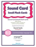 Common Core Curriculum Small Sound Card Flash Cards, Grade