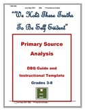DBQs: Primary Source Analysis Guide & Student Template