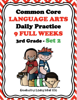 Common Core Daily Language Arts Morning Work - Set 2