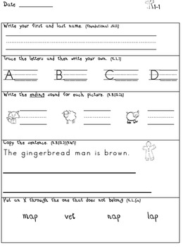 Common Core Daily Language December