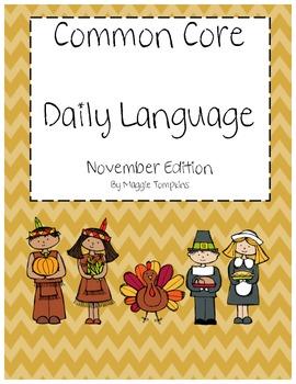 Common Core Daily Language November