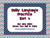 Common Core Daily Language Practice Set 4 (Fourth 9 Weeks)
