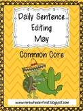 First Grade Sentence Editing: May