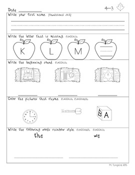 Common Core Daily Language September Edition