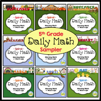 Daily Math - 5th Grade Sample Pages